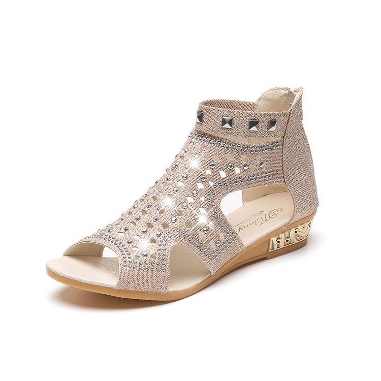 2018 Summer Casual Gladiator <strong>Sandals</strong> Flat for Women