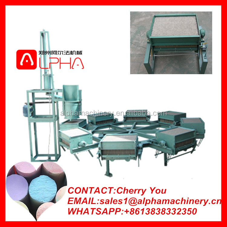 Blackboard or school chalk maker /chalk making machine /chalk forming machine