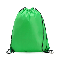 Promotional Custom Logo Reusable Blank Personalised Mesh Drawstring Bag