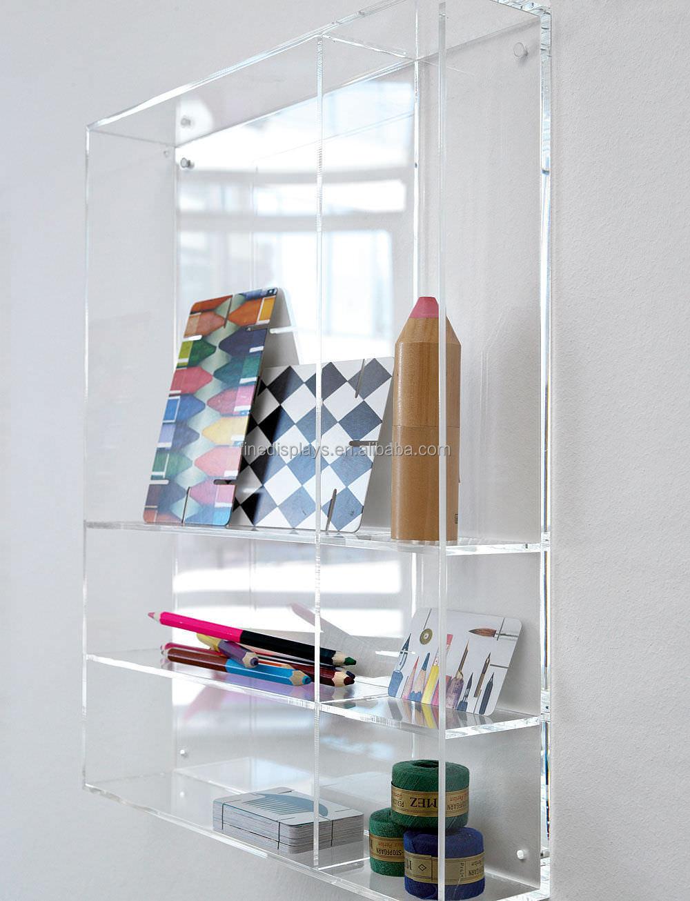 Display Shelves Wall Mounted Acrylic Wall Mount Display Shelf Hff042  Buy Acrylic Wall .