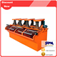 High Separator Efficiency copper ore processing plant, tin ore gold processing plant