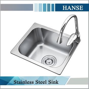 K 3832 Single Bowl Milano Custom Made Steel Queen Kitchen Sinks