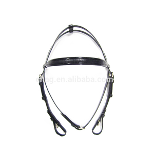 Cold Resistant And Fancy Horse Training Equipment Pvc Horse Bridle