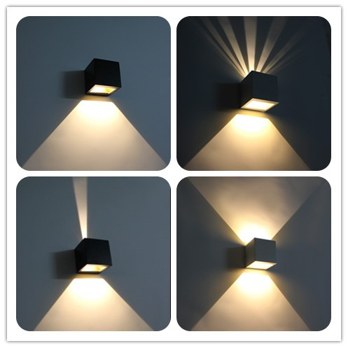 Aluminum Shell House Updown Light Outdoor Shine Up And Down Wall ...