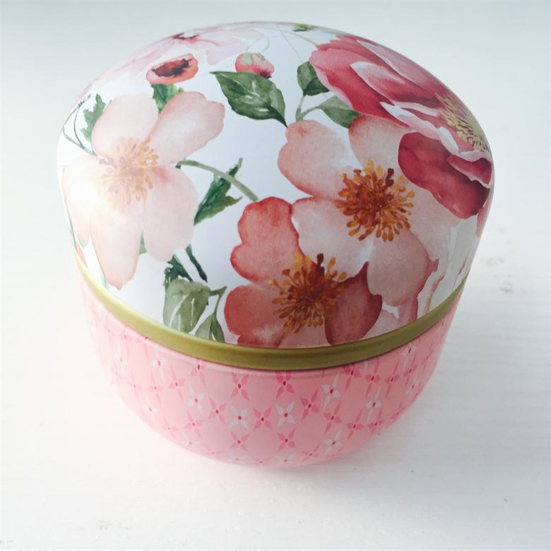 Paraffin/Soy Wax Customized Scented Traveling Use Tin Box Candle