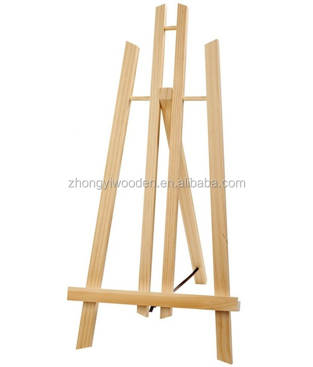 Customized hot sale artist wooden easel sketch easel wooden painting easel wholesale