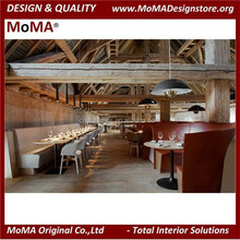 Luxury Solid Wood Furniture Restaurant Design And Public Areas - SETA