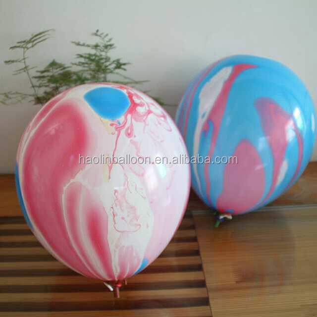 hot sale high quality color printed rainbow balloons