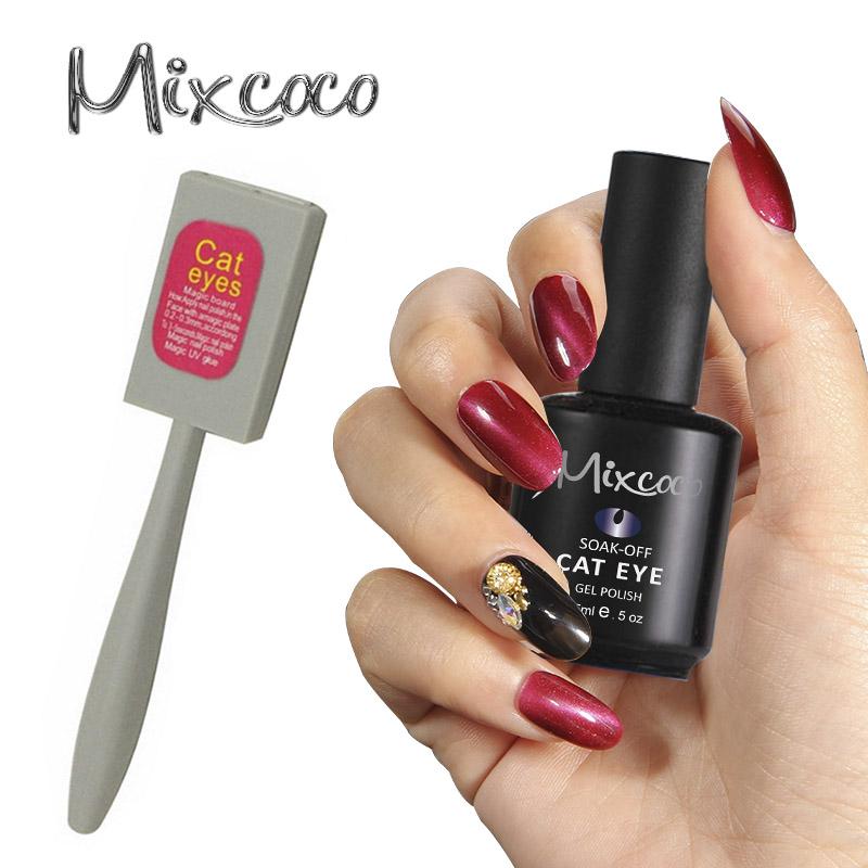 Nail Salon Manicure Pedicure 3d Efecto Ojo De Gato Uv Gel Esmalte De ...