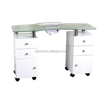Pas Cher Portable Table De Manucure A Vendre Verre Table De
