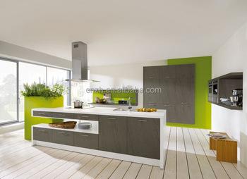 Zhihua grey matte color formica hpl wall hanging kitchen for Kitchen set hpl
