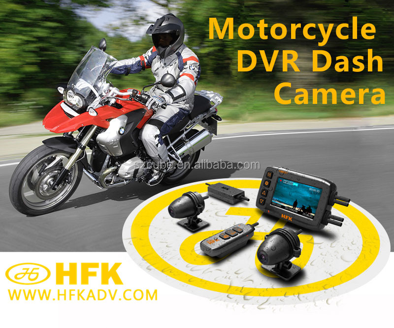 HM 601 All-weather high-precision Swiss GPS long-distance safe travel use motorcycle dvr camera