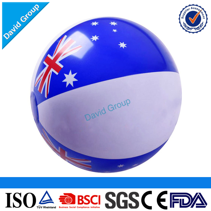 2017 Top Seller! Customized Logo Printing PVC Promotional Beach Balls With Logo Printed