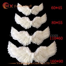 wholesale large white angel wings carnival feather wings for sale