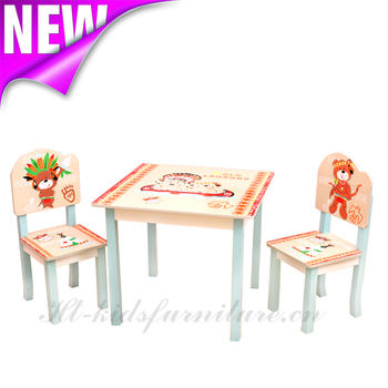 Cool Indian Bear Wooden Children Table And Chair, New Arrival Wooden Kids  Table For Wholesale