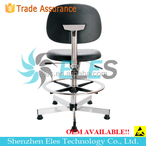 Elegant high quality esd chair with Adjustable Armrest