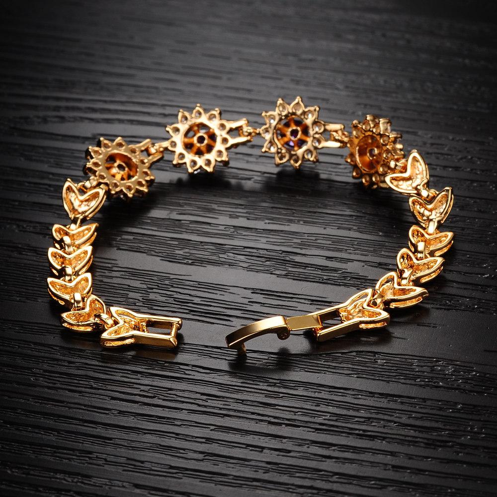 Новое поступление нержавеющая сталь Розовое золото Циркон с 316 л нержавеющая сталь бабочка браслет