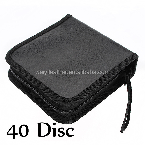 Durable CD Case 40pcs Discs Portable CD Bag DVD Case Storage Holder DVD Bag Fashion Useful CD Case For Car DVD Bags