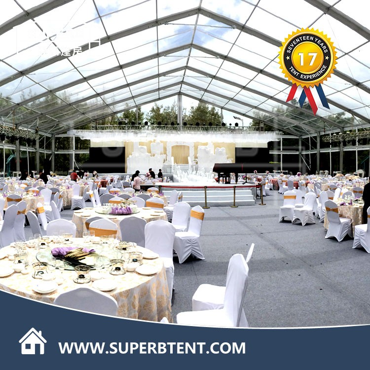 Wedding Tents For Sale: Transparent Wedding And Party Tent Price With Table And