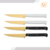 BSCI Easy cut laguiole acrylic steak knife