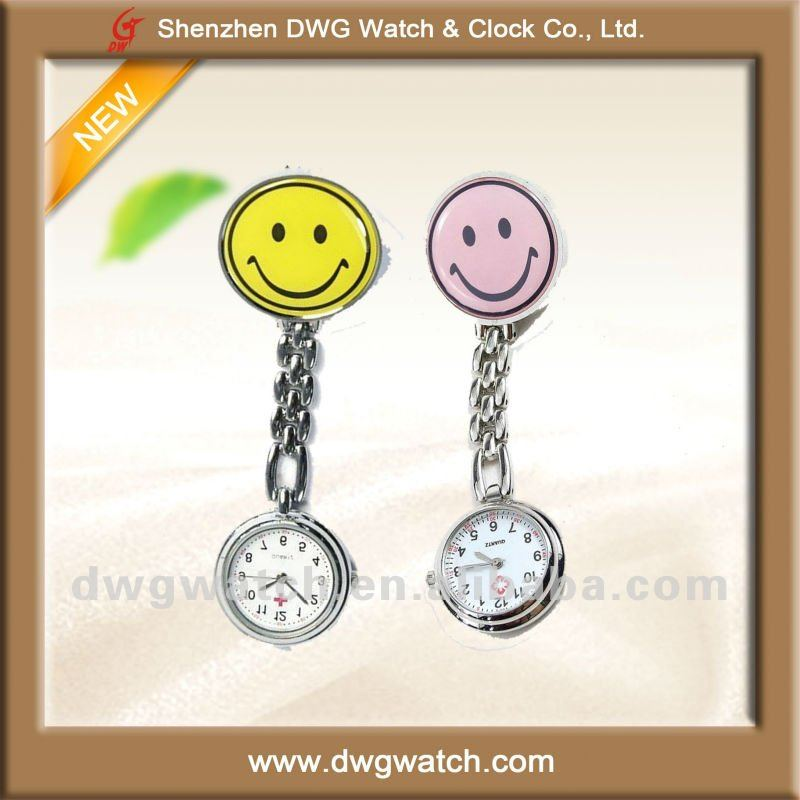 Quartz Waterproof Alloy Watch for Nurse
