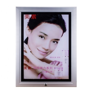 Outdoor or indoor use aluminum frame and acrylic sheet for poster display led waterproof slim light box