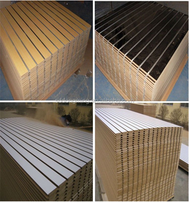 Mdf Slatwall Wood Panel Slat Wall Slot Board Buy