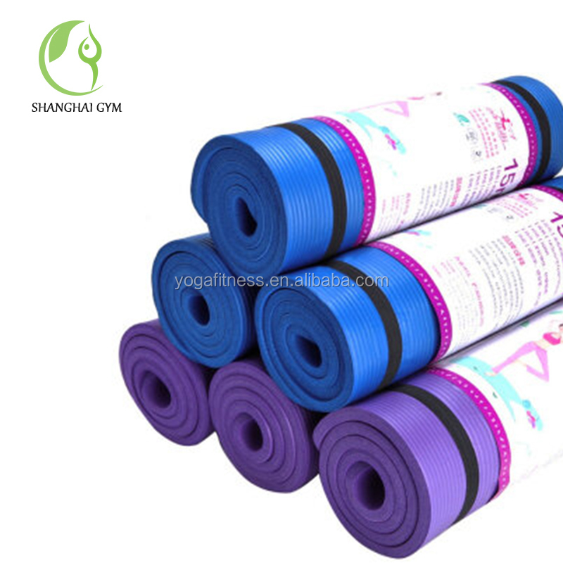 Extra Thick NBR Foam Exercise/Yoga/Pilates Mat