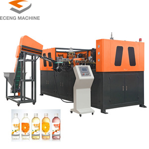 fully automatic PET bottle blowing machine price/blow moulding machine 4 cavities