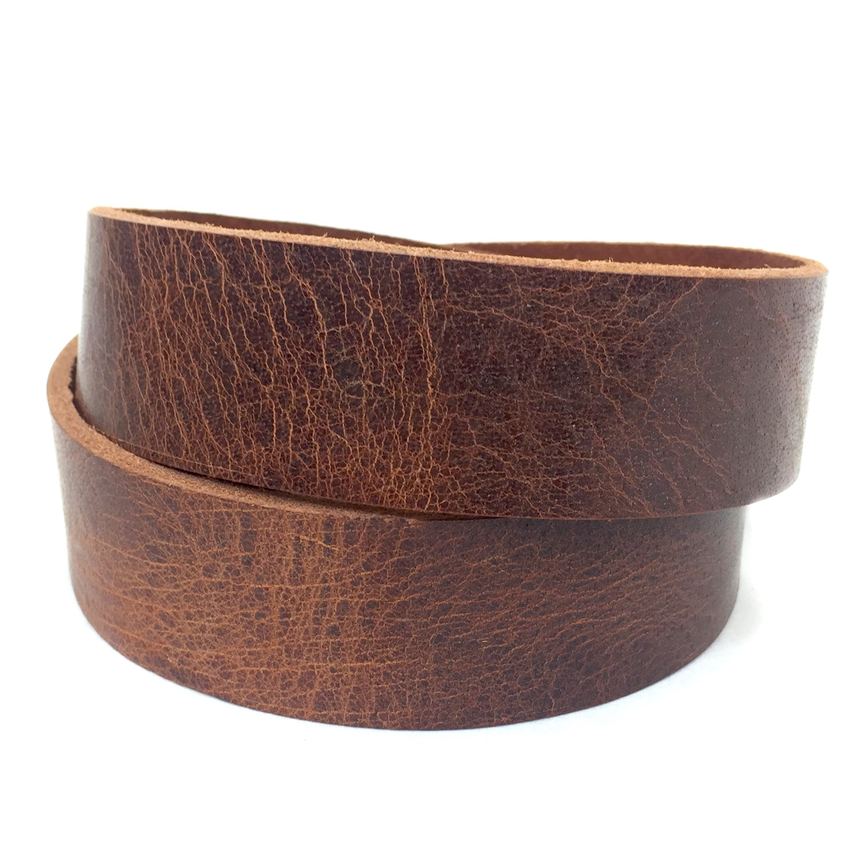 "Springfield Leather Company's Buffalo Leather Strips (1-1/4"", Vintage Tan)"