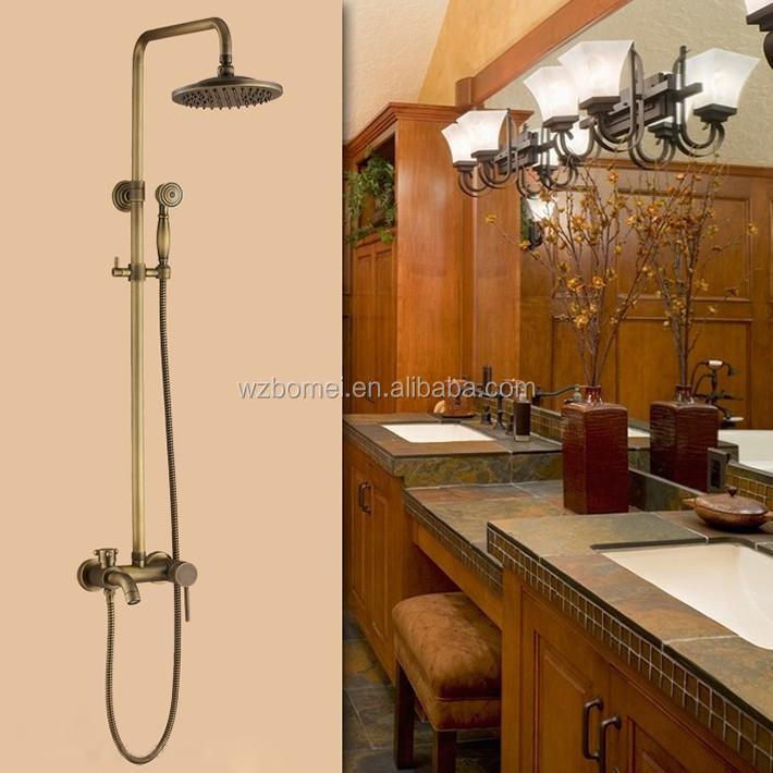 Antike badezimmer niederschl ge badepflegeset 8 zoll runde duschkopf antiken fertigen - Antike badezimmer ...