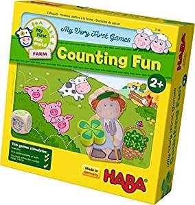 Haba My Very First Games - Counting Fun Farm Themed Counting Game by HABA