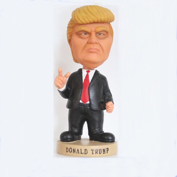 High Quality Custom Donald Trump Bobblehead Dolls