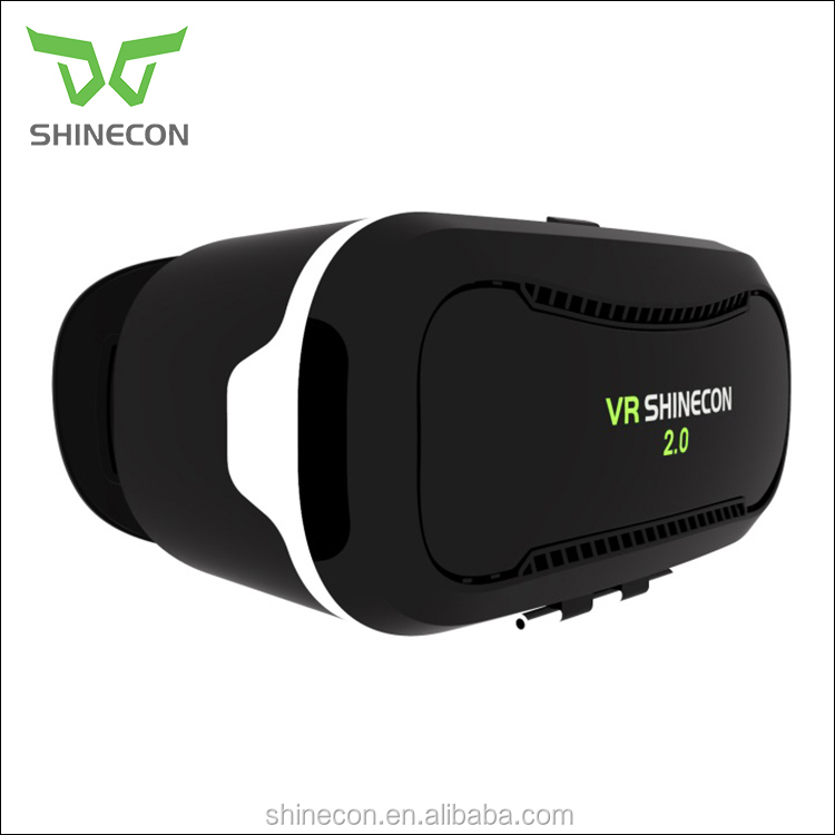 "New Virtual Reality VR BOX 2.0 Version 3D Glasses Google Cardboard VR Glasses 3D Video Movie Game for 3.5"" - 6.0"" Smart"