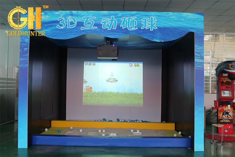 Kids Interactive Floor Game With 3d Hologram Projector - Buy