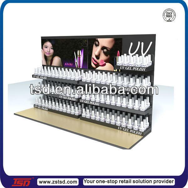 Tsd-a479 Custom Cosmetic Shop Tabletop Acrylic Nail Polish Display ...