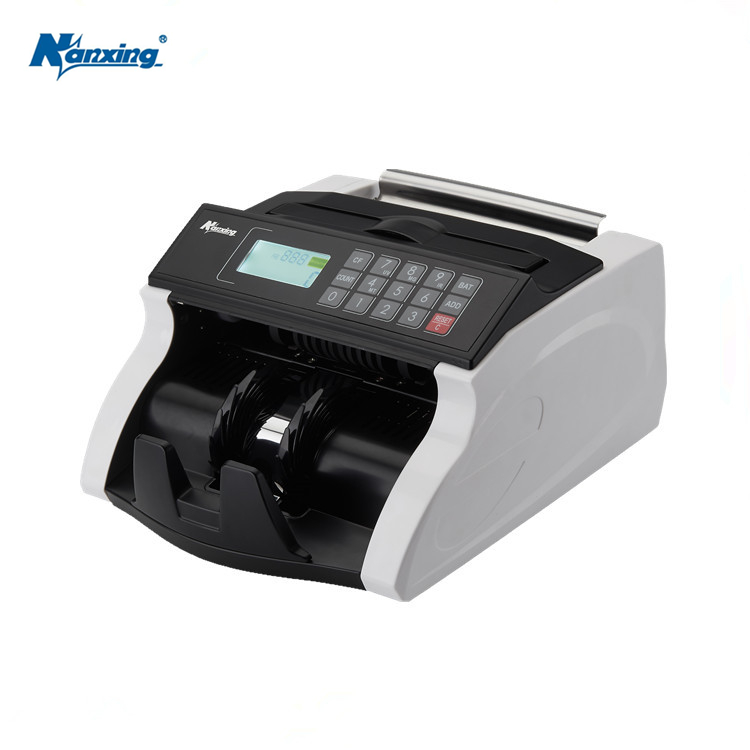 Bank Notes Counter and Detector Machine With UV MG IR MT DD