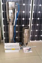 2.2kw3kw large flow Solar water Pumps well hole for agriculture