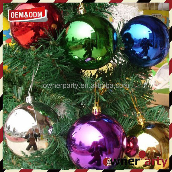 2017 New Design Custom Hanging Christmas Tree Ornaments