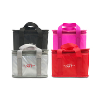 Durable Deluxe Fitness vaccine portable Picnic Insulated 600 denier Polyester Lunch Cooler Bag