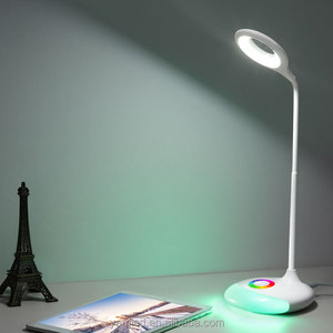 ShenZhen Factory manufacturer led table lamp with mood light