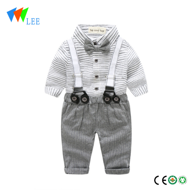 baby boy kids fashion T-shirt pants Set Wear, wholesale children's boutique clothing