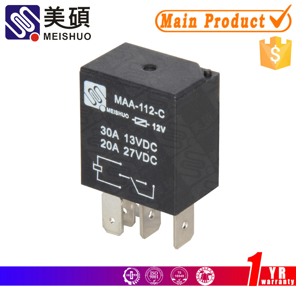 Universal Auto Relay 12v 30a Suppliers 4 Pin And Manufacturers At