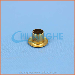 Factory hot sale bronze metal rivets and eyelets for shoes