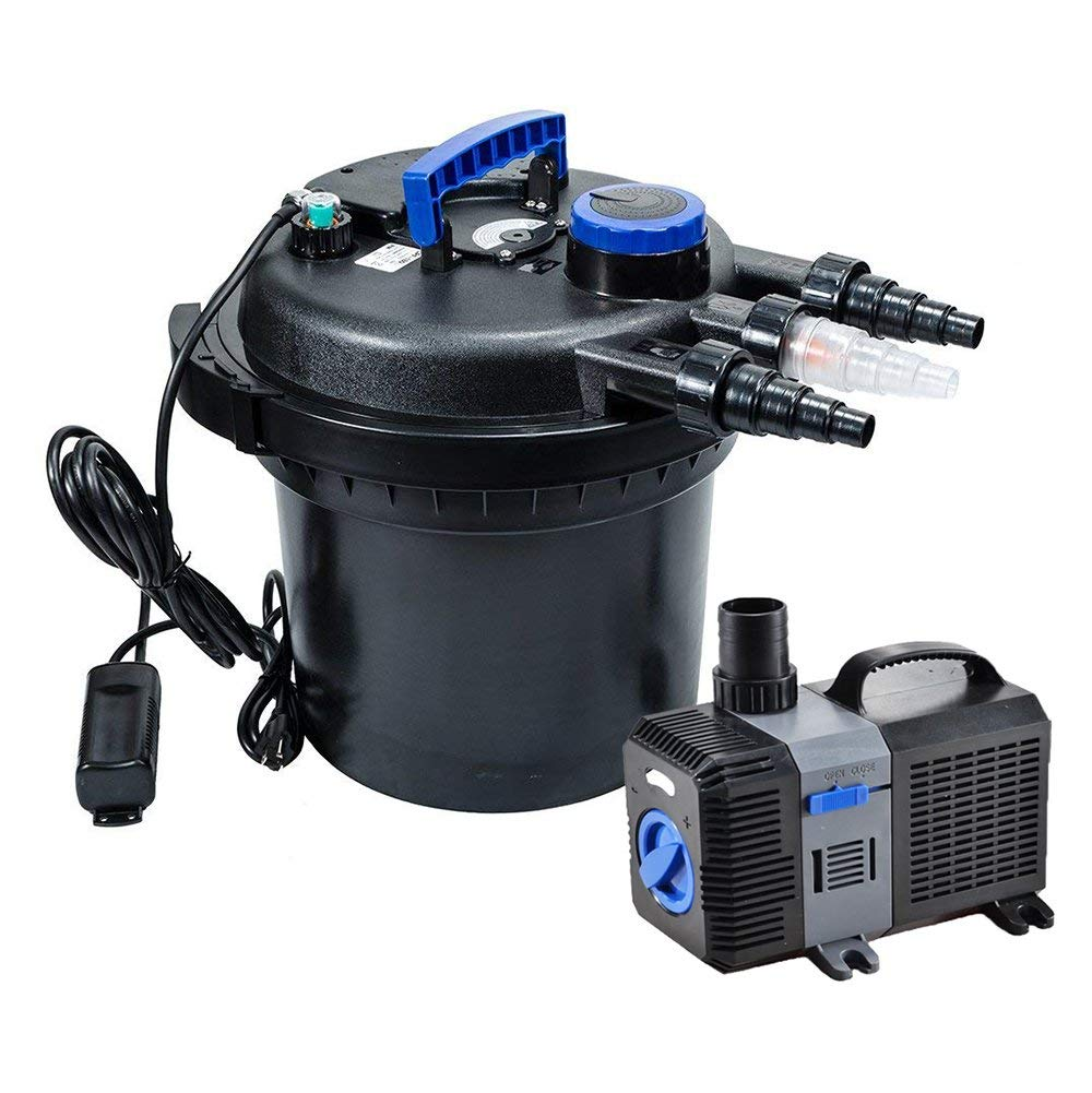 Pond Pump 2650gph Submersible Inline Fountain Waterfall Koi Filter New Varieties Are Introduced One After Another Pumps (water) Pet Supplies
