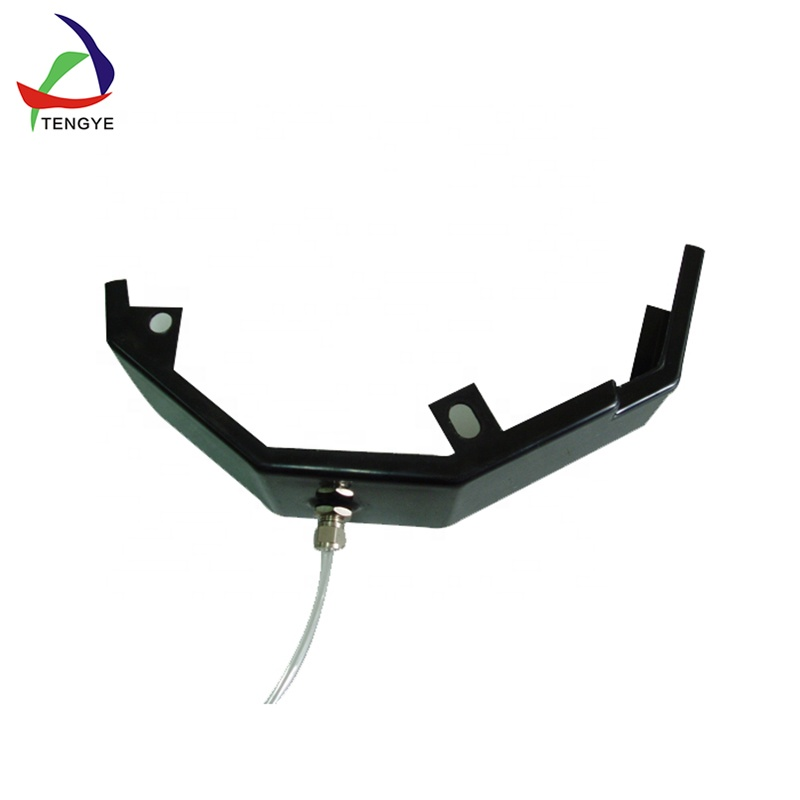 Professional production abs plastic truck np300 fender flare