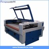 FW good quanlity garment trademark laser cutting machine
