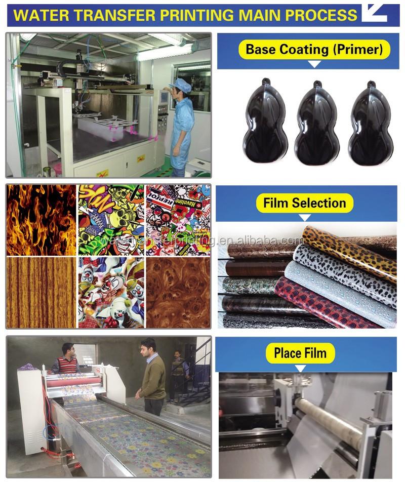 Portrait Water Transfer Printing Film Hydrographics Film Activator ...