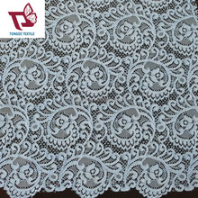 100% french polyester lace fabric making dress,new design cord lace fabric wholesale