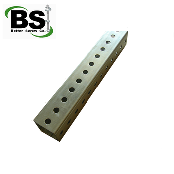 Perforated Square Tube Steel Sign Post - Buy Square Steel Sign  Post,Galvanized Steel Sign Posts,Steel Fence Posts Product on Alibaba com